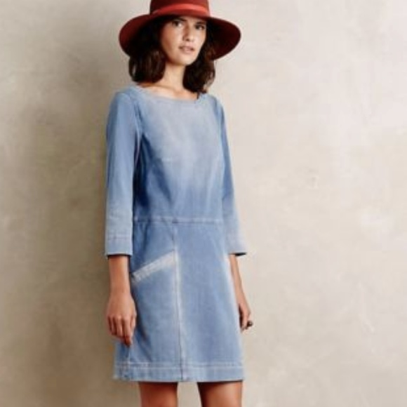 05d9a67d986a Anthropologie Dresses | Ag For Stretch Denim Dress | Poshmark